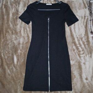 Zara Dresses - Zara Zip Up Dress